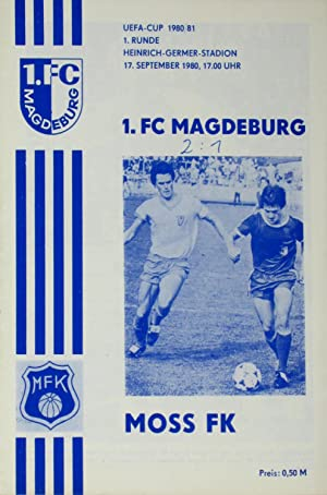 Prg. 1. FC Magdeburg - Moss FK