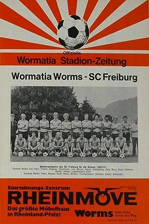 Prg. Wormatia Worms - SC Freiburg 16.11.80,
