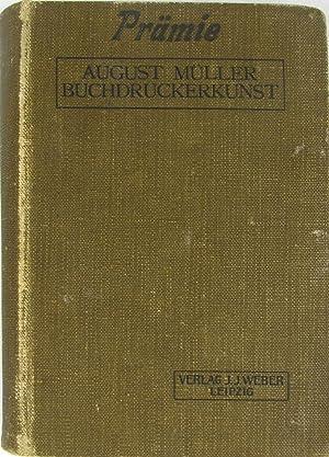 Lehrbuch der Buchdruckerkunst,: Müller, August: