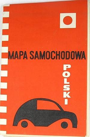 Autokarte Polen (Mapa Samochodowa Polski),