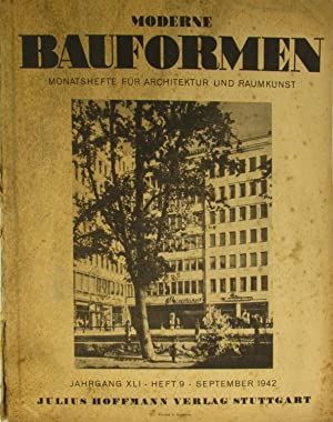 Moderne bauformen first edition abebooks for Innendekoration 1921