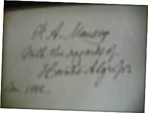 Gran'ther Baldwin's Thanksgiving: Horatio Alger, Jr.