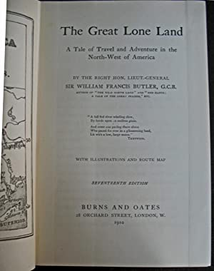 The Great Lone Land: Sir William Francis Butler