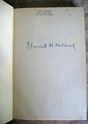 Murder Out Yonder: Stewart Holbrook