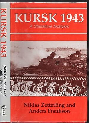 Kursk 1943 A Statistical Analysis: Niklas Zetterling and