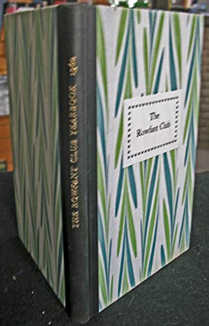 The Rowfant Club Year Book 1991: Rowfant Club