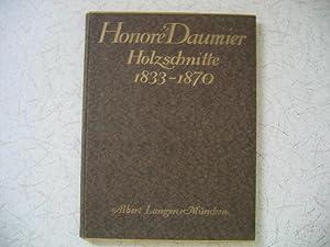 Daumier, Honore: Holzschnitte 1833 - 1870.: Fuchs, Eduard