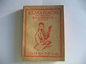 Almanach des Verlages R. Piper & Co. 1904 - 1914.
