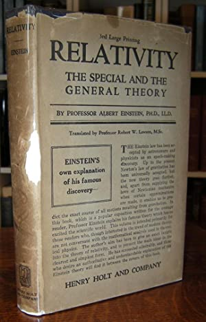 Relativity, The Special and General Theory