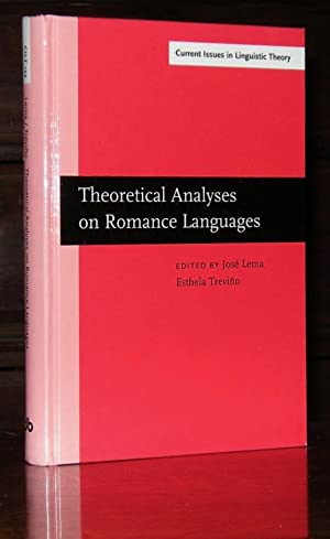 Theoretical Analyses on Romance Languages: Selected papers from the 26th Linguistic Symposium on ...