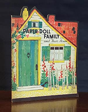 Paper Doll Family and Their House: Florence and Margaret