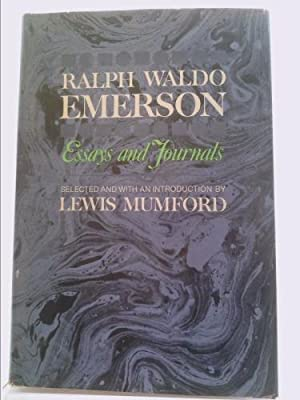 Essays And Journals Selected And With An: Ralph Waldo Emerson