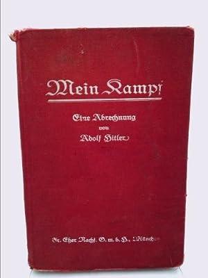 MEIN KAMPF FIRST EDITION ORIGINAL 1925: ADOLF HITLER