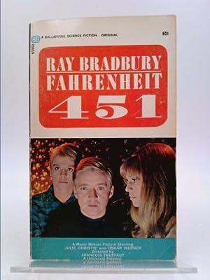 Fahrenheit 451 Movie Tie-in Cover: Bradbury, Ray