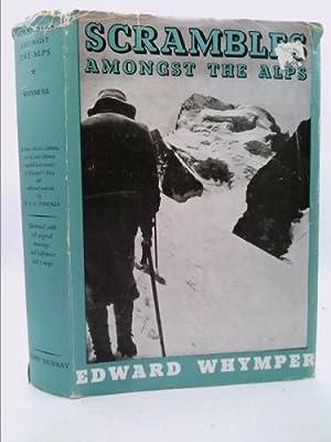1893 Edward Whymper Scrambles Amongst The Alps Matterhorn Zaehnsdorf Binding Wide Varieties Outdoor Sports