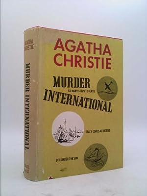 Murder International Inclucing So Many Steps to: Christie, Agatha