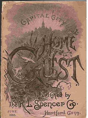 Capital City Home Guest, June 1885 Issue.: Patten, J. Alexander (editor).