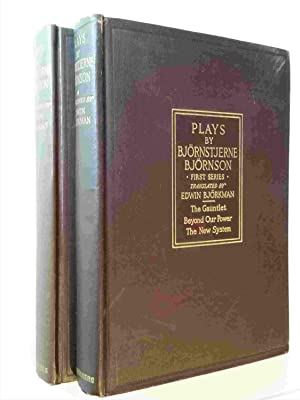 Plays By Bjornstjerne Bjornson, in Two Volumes: First Series--The Gauntlet, Beyond Our Power, The ...