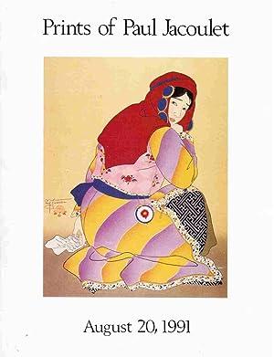 Prints of Paul Jacoulet; at Auction August: Craig-Schofield, Susan M.