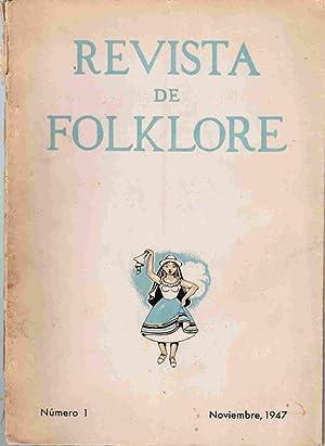 Revista de Folklore; Numeros 1--5 (Bogota, Columbia): Angel, Eduardo Zuleta;