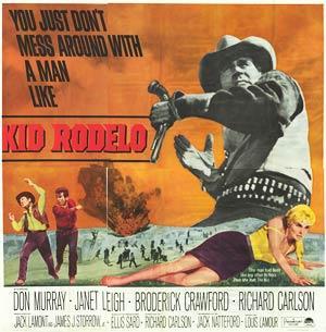 "Kid Rodelo - Authentic Original 81"""" x 81"""" Folded Movie Poster"