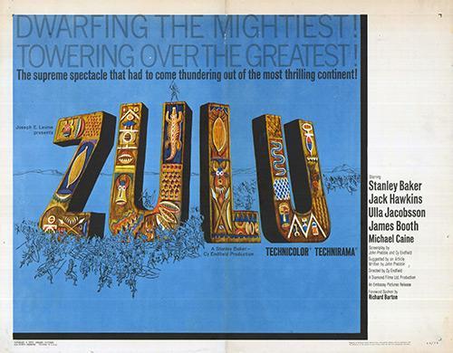Zulu Authentic Original 28 X 22 Movie Poster Movie Poster