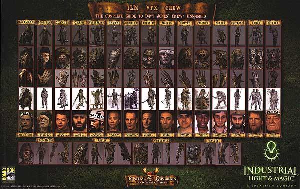Pirates Of The Caribbean Dead Man S Chest Authentic Original 27 X 17 25 Movie Poster 2006 Art Nbsp Nbsp Print Nbsp Nbsp Poster Movie Poster Warehouse