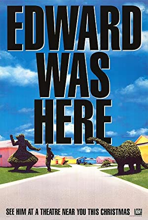 "Edward Scissorhands - Authentic Original 27"" x 40"" Movie Poster"