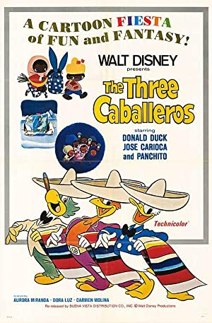 Three Caballeros - Authentic Original 27
