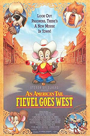 American Tail: Fievel Goes West - Authentic Original 27