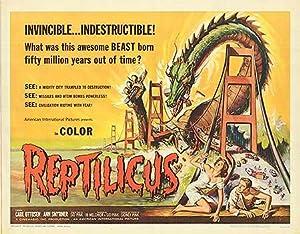 """Reptilicus - Authentic Original 22"""" x 28"""""""