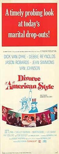 "Divorce American Style - Authentic Original 14"" x 36"" Movie Poster"