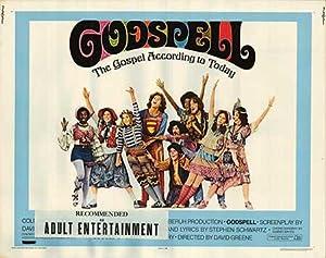 """Godspell - Authentic Original 28"""" x 22"""""""
