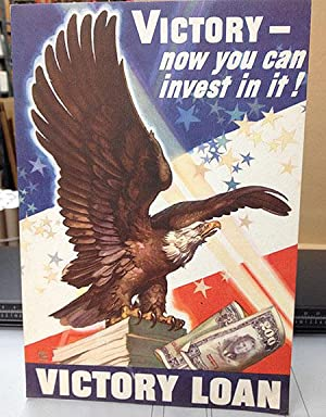 War Loan - Victory Now you can invest in it! - Authentic Original 8.5