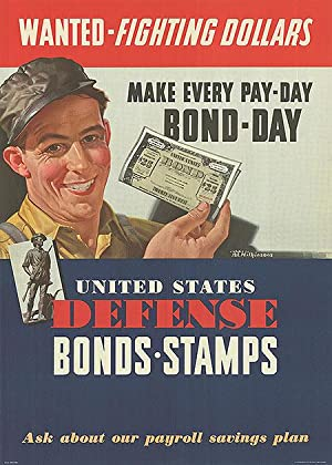 War Bond - Wanted - Fighting Dollars - Authentic Original 20