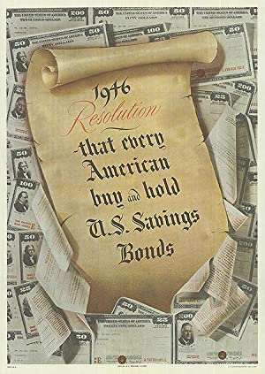 War Bond - 1946 Resolution - Let every american - Authentic Original 18.5