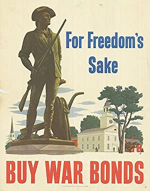 War Bond - For Freedom's sake - Authentic Original 11