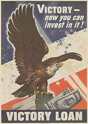 War Bond - Victory - Now you can invest in it! - Authentic Original 18.5