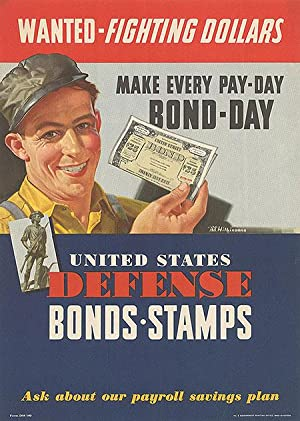 War Bond - Wanted - Fighting Dollars - Authentic Original 10