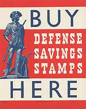 War Bond - Buy Defence savings stamps - Authentic Original 8