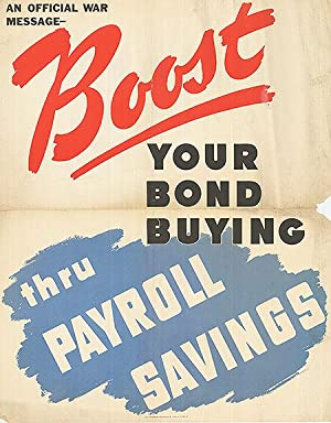 War Bond - Boost your bond buying - Authentic Original 22