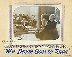 Mr. Deeds goes to town - Authentic Original 14