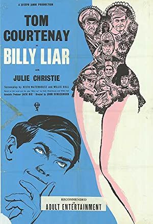"Billy Liar - Authentic Original 27"" x 41"" Folded Movie Poster"