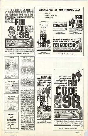 """FBI Code 98 - Authentic Original 11"""""""