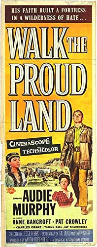 "Walk The Proud Land - Authentic Original 14"" x 36"" Movie Poster"