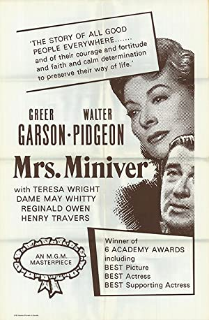 Mrs. Miniver - Authentic Original 27