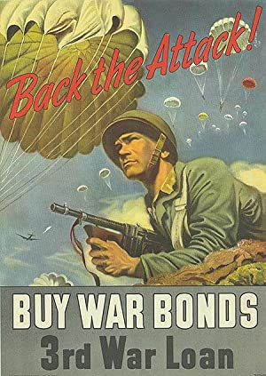 War Bond - Back the Attack - Authentic Original 10