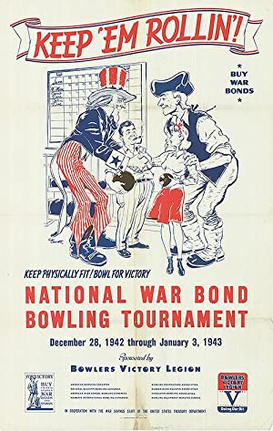 War Bond - Keep 'em Rollin'! - Authentic Original 28
