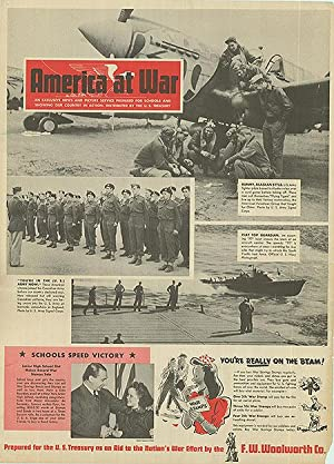 War Bulletin - America at War! - Authentic Original 16