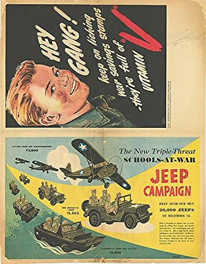 War Bond - Jeep Campaign - Authentic Original 21.5